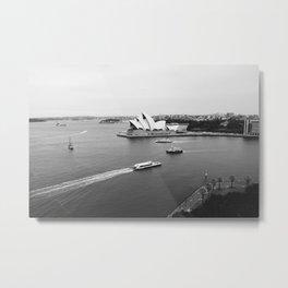 The Harbour Metal Print