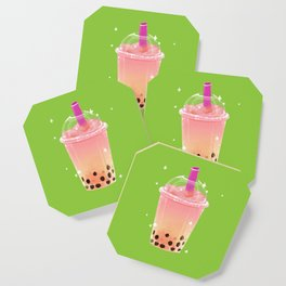 Frozen Boba Tea Coaster