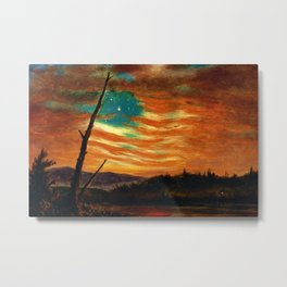 Our Banner in the Sky by Frederic Irwin Church Metal Print