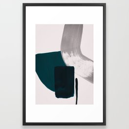 minimalist painting 02 Framed Art Print
