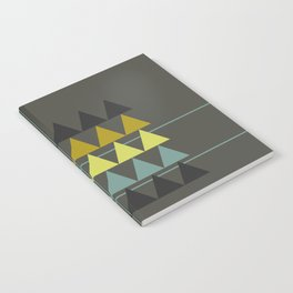 disguise forest || spring neon Notebook