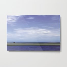 beach runners - Amrum Metal Print