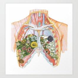 Lung Garden Art Print