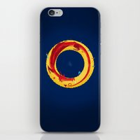 the hobbit iPhone & iPod Skins featuring Hobbit by Wharton