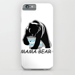 Mama Bear Demiboy iPhone Case