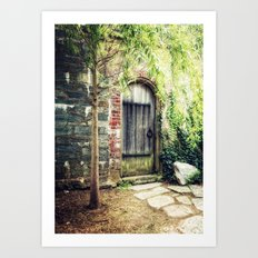 There are still magical places in the world. Art Print