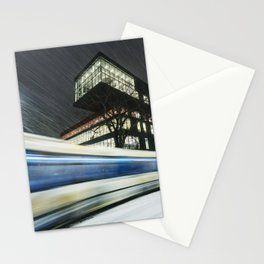 Library Blizzard Stationery Cards