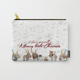 Moosey Little Christmas Carry-All Pouch