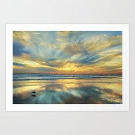 Ebb Tide Art Print