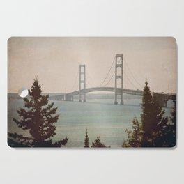 Mackinac Bridge Cutting Board