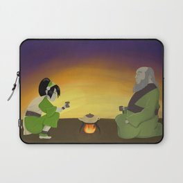 Cup of Tea with Iroh Laptop Sleeve