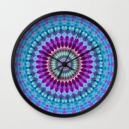 Geometric Mandala G382 Wall Clock