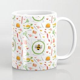 Embroidery Love Coffee Mug