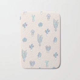 Succulent Pattern Desert Collection - #decor #buyart Bath Mat
