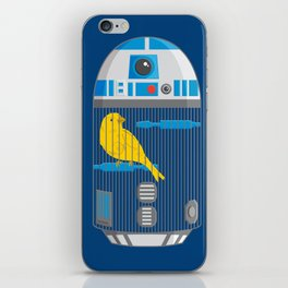 R2 Birdcage iPhone Skin