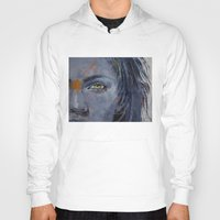 grey Hoodies featuring Grey by Michael Creese
