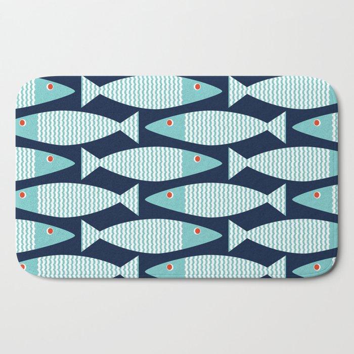 Wavy Bass Bath Mat