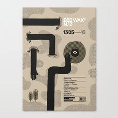 B2B Wax N.12 Canvas Print