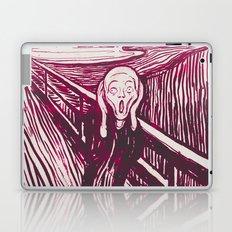 The Scream's Haze (pink) Laptop & iPad Skin