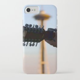 the needle with no damage done iPhone Case