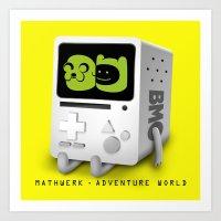 Mathwerk - Adventure World Art Print