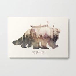 Sky Bison (Appa) Metal Print