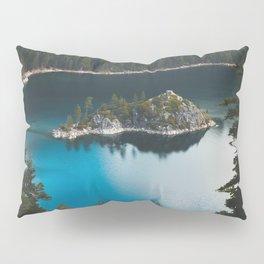 Fannette Island in Emerald Bay - Lake Tahoe, California Pillow Sham