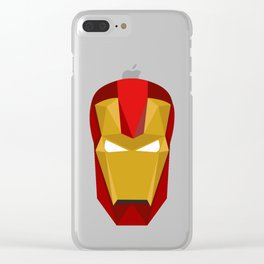 Iron Man Clear iPhone Case