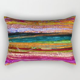 Indian Colors Rectangular Pillow