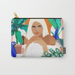 Indian Vacay #illustration #painting Carry-All Pouch