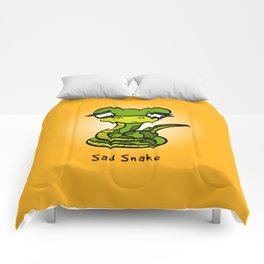 Sad Snake Comforters