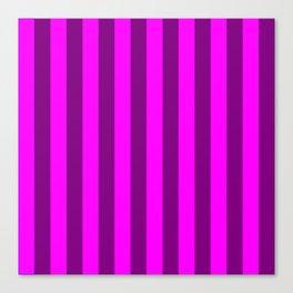 stripes purple pattern Canvas Print