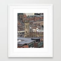 liverpool Framed Art Prints featuring Liverpool by eams