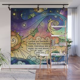 Fearfully and Wonderfully Made Wall Mural