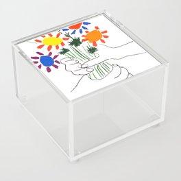 Pablo Picasso Bouquet Of Peace 1958 (Flowers Bouquet With Hands), T Shirt, Artwork Acrylic Box