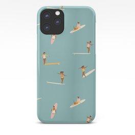 Surf girls iPhone Case