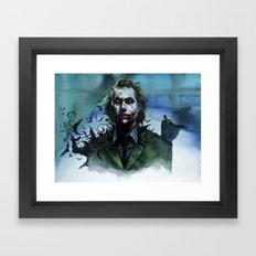 Joker Framed Art Print