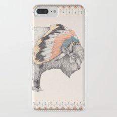 White Bison iPhone 7 Plus Slim Case