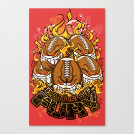 Balls Of Fury Canvas Print