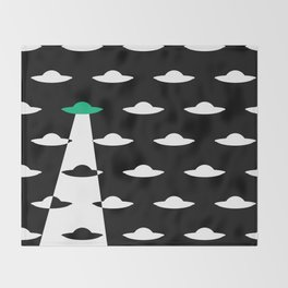 Abduction Throw Blanket