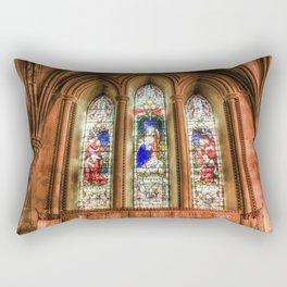 Stained Glass Windows Rectangular Pillow