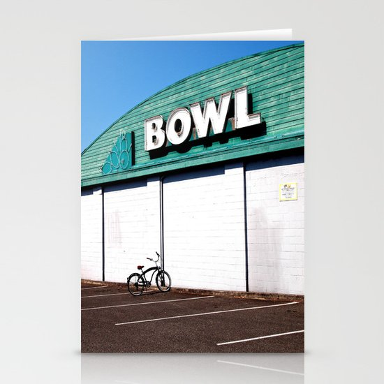 Ready, Set, Bowl! Stationery Cards