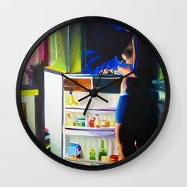 Mid-Summer AC Wall Clock