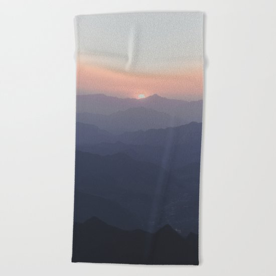 The Great Wall of China III Beach Towel