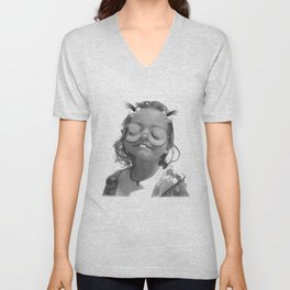 Char-Boogie Bliss Unisex V-Neck