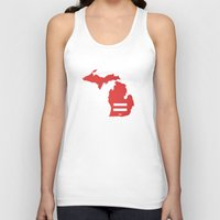 michigan Tank Tops featuring Michigan Love by Tank Top Sunday
