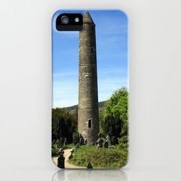 Round Tower iPhone Case