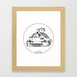 Crazy Car Art 0202 Framed Art Print