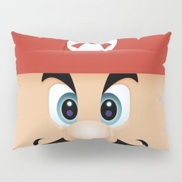 Mario With Cool Mustache Pillow Sham