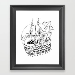 skull-art Framed Art Print